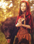 Little Red Riding Hood, Fantasy Woman Art, DS Iray