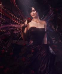 Gothic Fairy, Fantasy Woman Art, Daz Studio Iray by shibashake