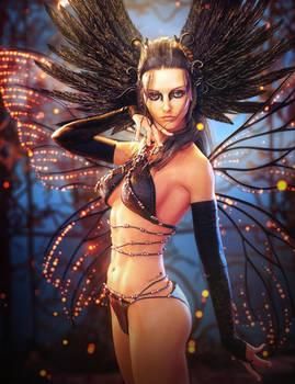 Otherworld, Fantasy Fairy Woman Art, Daz Studio