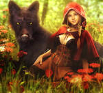 Red Riding Hood, Fantasy Woman Art, Daz Studio