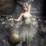 Winter Dance, Fantasy Woman Art, Daz Studio Iray by shibashake