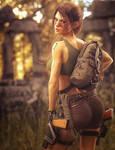 Equipment Upgrade, Lara Croft Tomb Raider Fan-Art