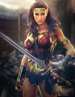 Diana, Wonder Woman DC Fan-Art, Daz Studio Iray