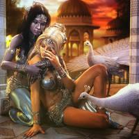 Comfort, Fantasy Elf Women 3D-Art, Daz Studio Iray