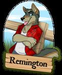 Remmington Wolf DOTF Badge