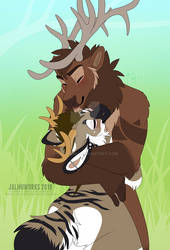 Damian Elk with Jalmu