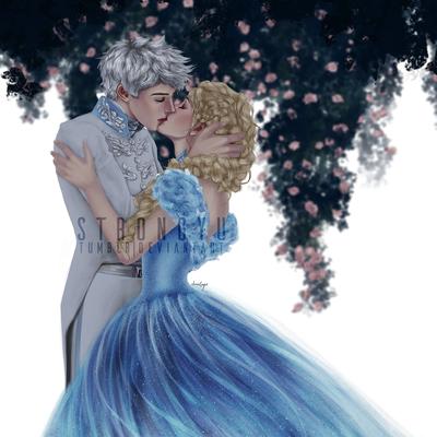 Jelsa Cinderella AU by strongyu
