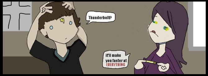 thunder bolt by jimmytrope