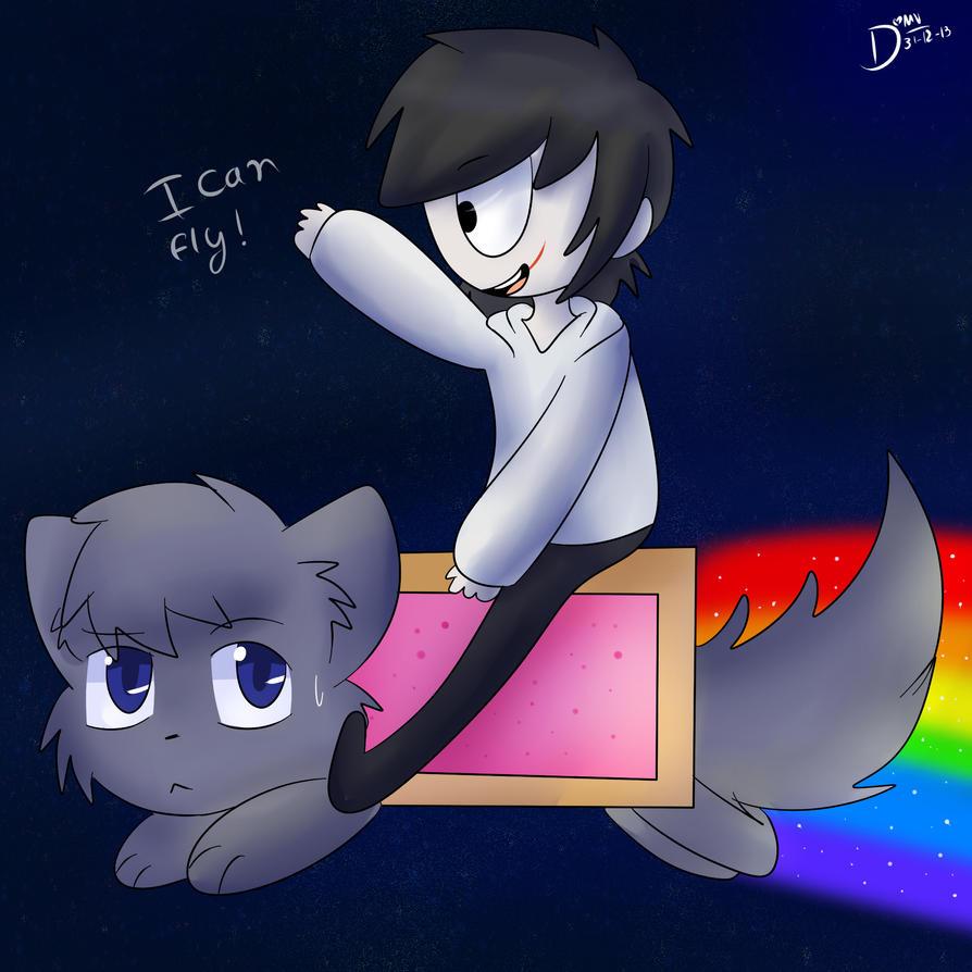 Creepy Pasta Nyan Cat