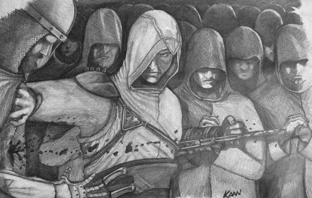 assassins creed draw by