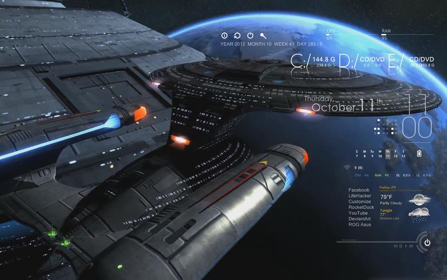 USS Enterprise Series by NIMArchitect