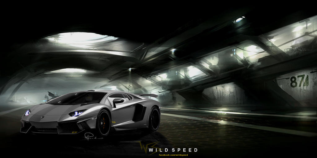 Lamborghini Aventador Wallpaper by NIMArchitect