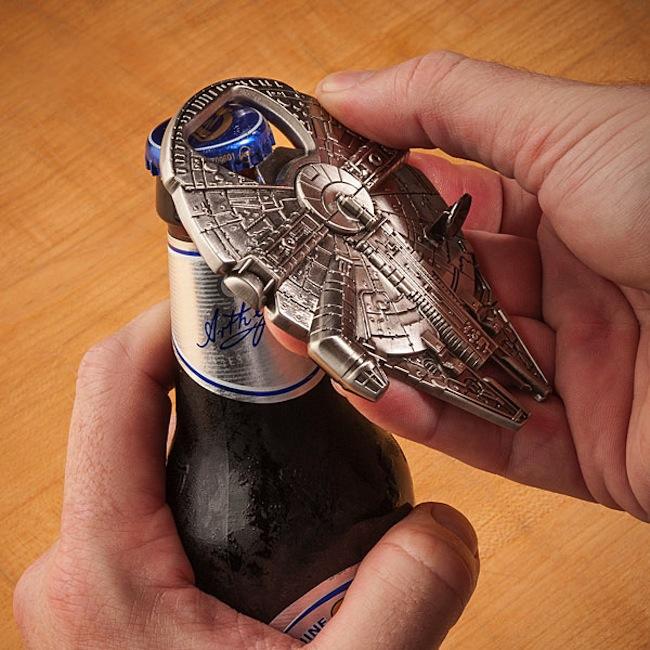 Millennium Falcon Bottle Opener by NIMArchitect