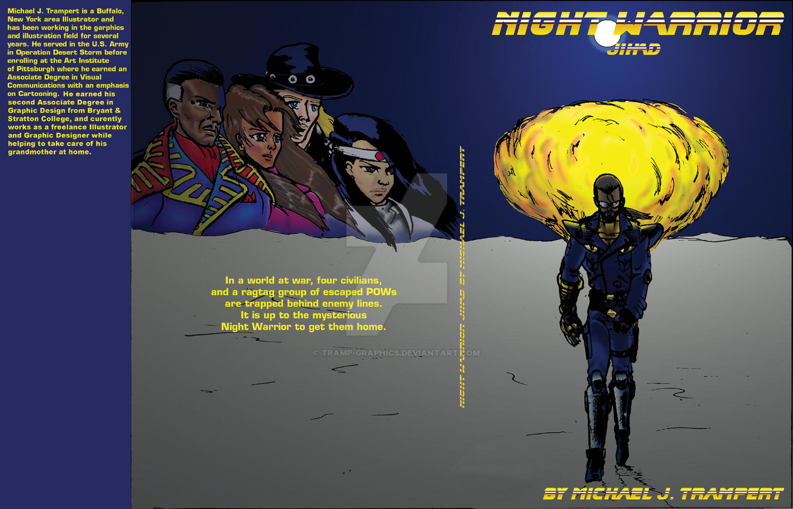 Night Warrior cover