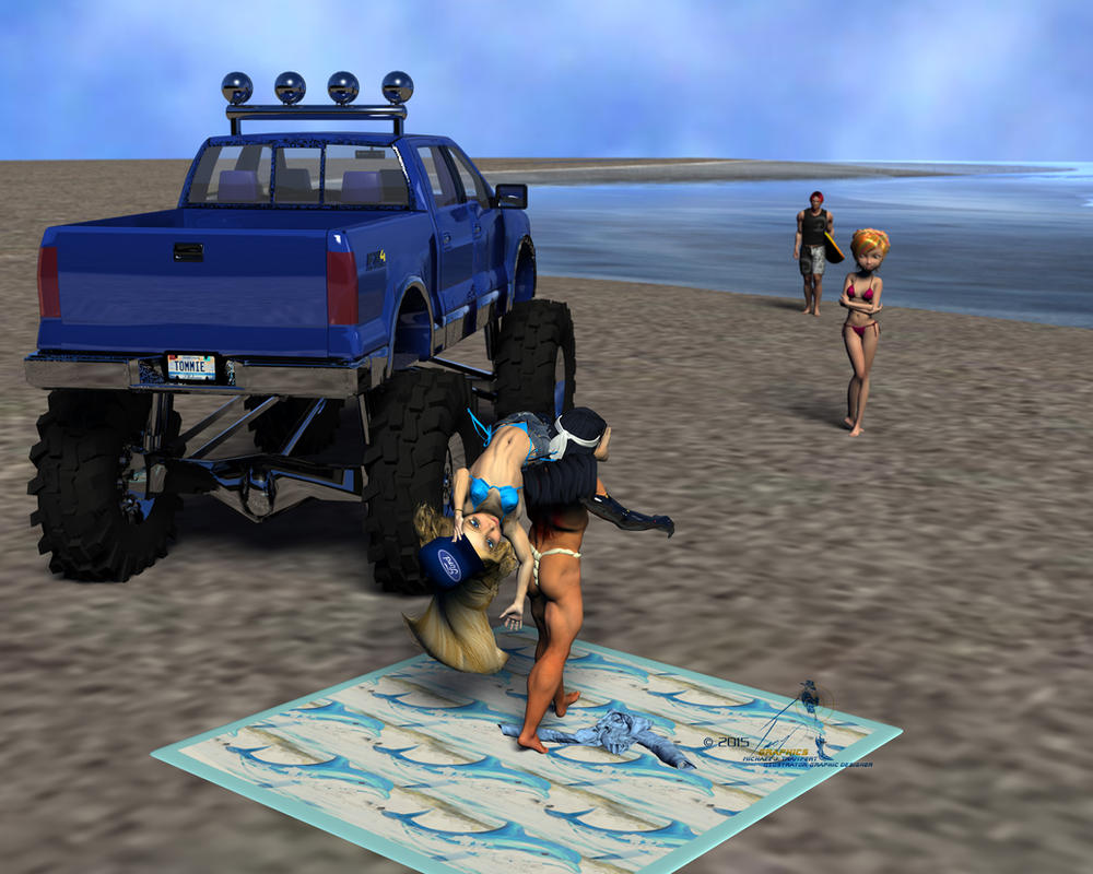 Payback's a Beach by Tramp-Graphics