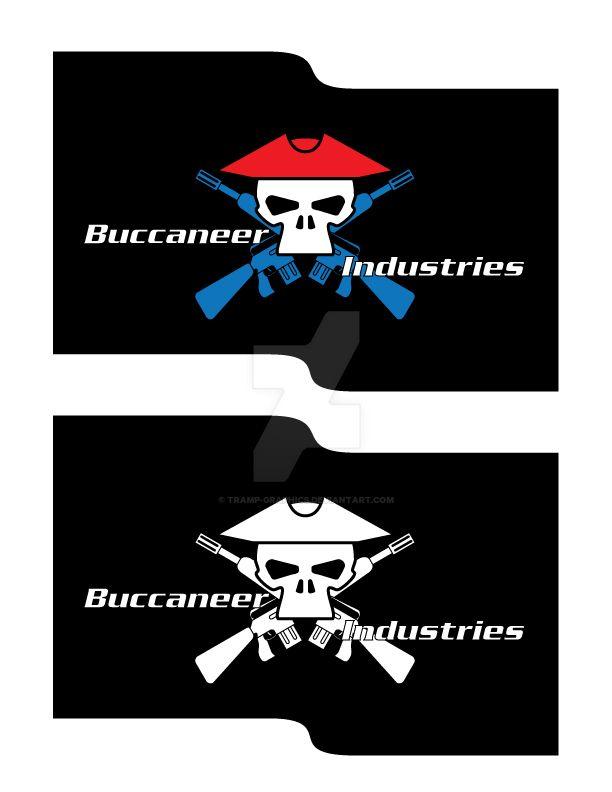 Buccaneer-Industries-Logo by Tramp-Graphics