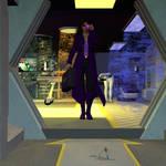 Maria Mirandez, Cybermedic by Tramp-Graphics