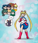 Redraw Commission: Sailor Moon (ALT) by JayManney4Life