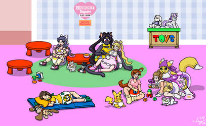 Commission: Mommy Daycare Playroom by JayManney4Life