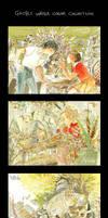 Ghibli water color