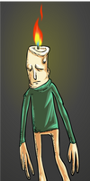 Candle Man by LazerSofa