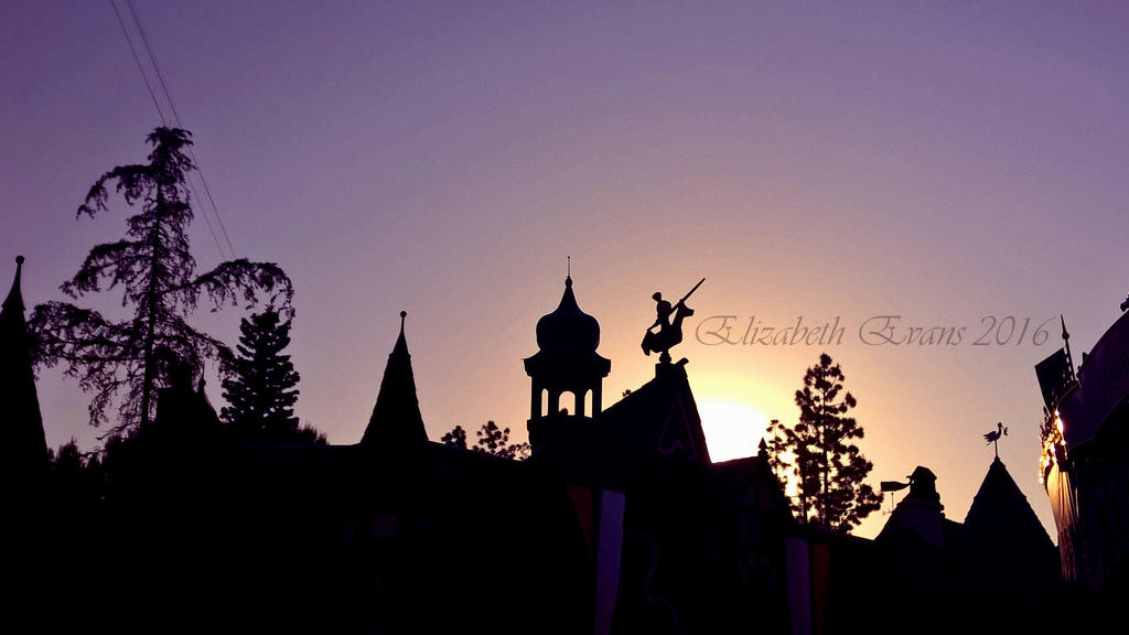 Silhouette in Fantasyland by nizzie