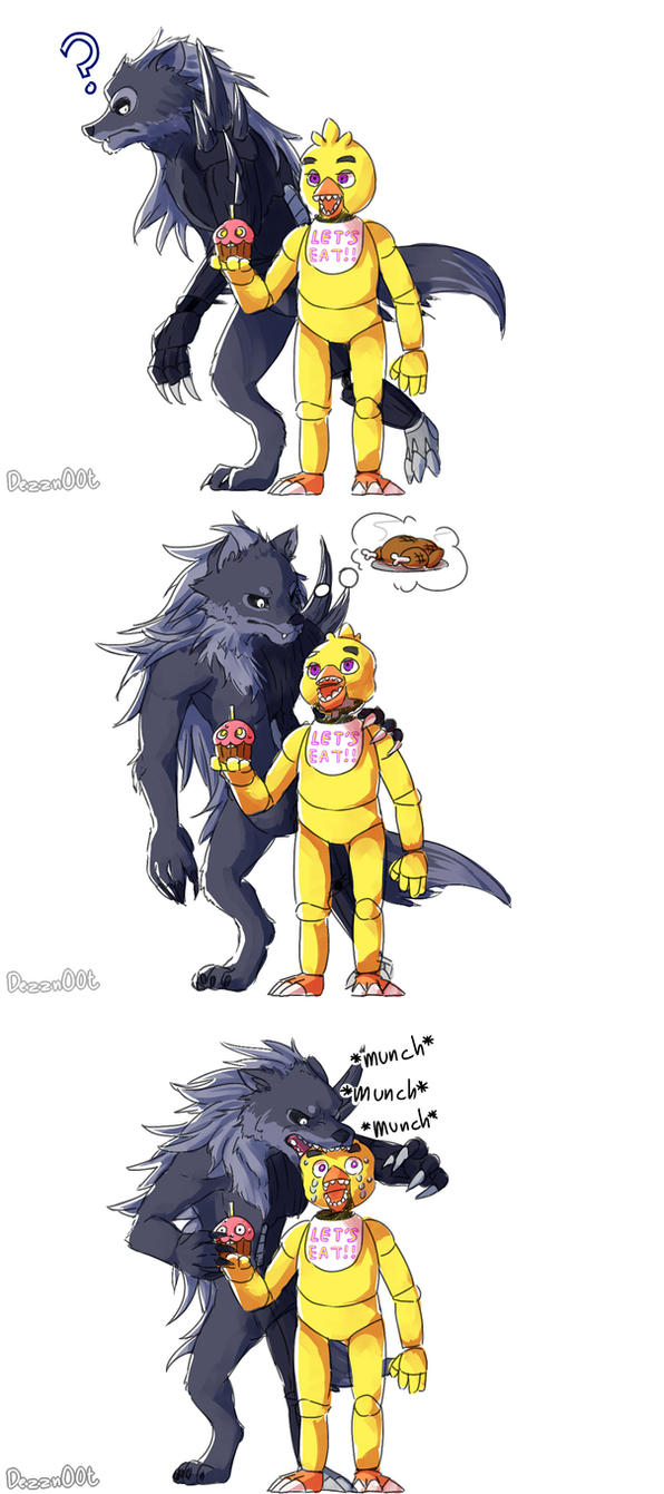 why chica doesn't get her twisted debut by en-wakwaw