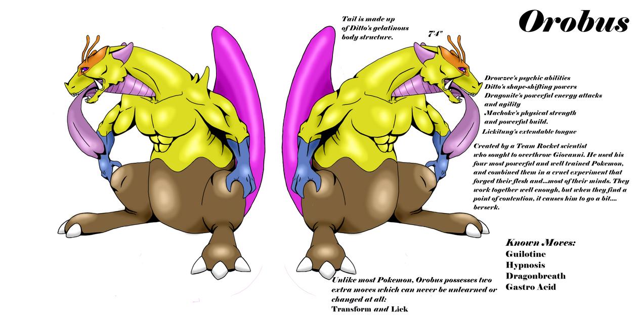 Orobus The Chimera Type Pokemon By Namelosesandhell On Deviantart