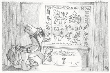 Ancient hierogryphics by Coelacanth0794