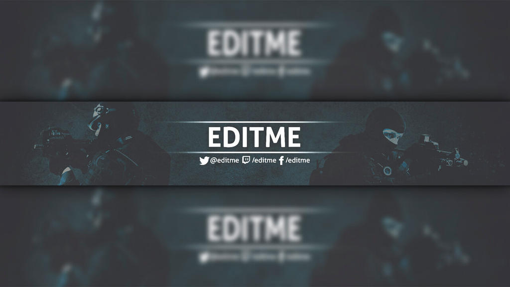 Work Youtube Template Banner by supernachoxman6 on DeviantArt