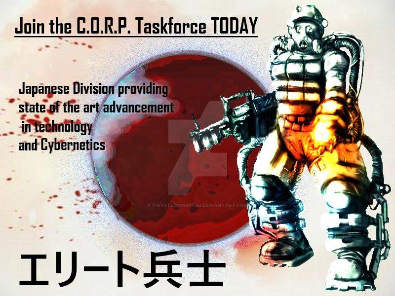 C.O.R.P. Cybernetics Propaganda by TwystedCompass