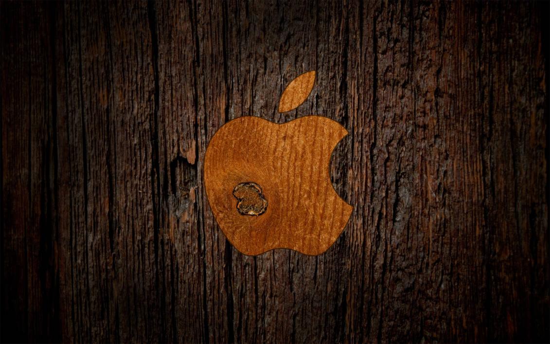 Wooden Apple by CureBoy