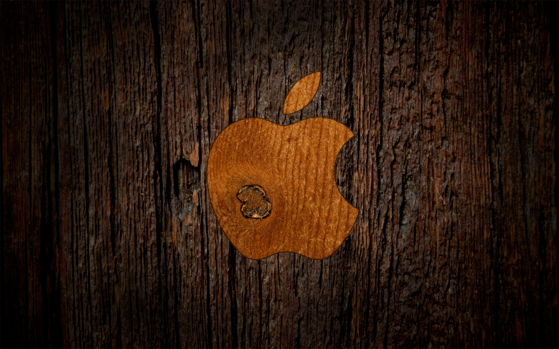 Wooden Apple by CureBoy