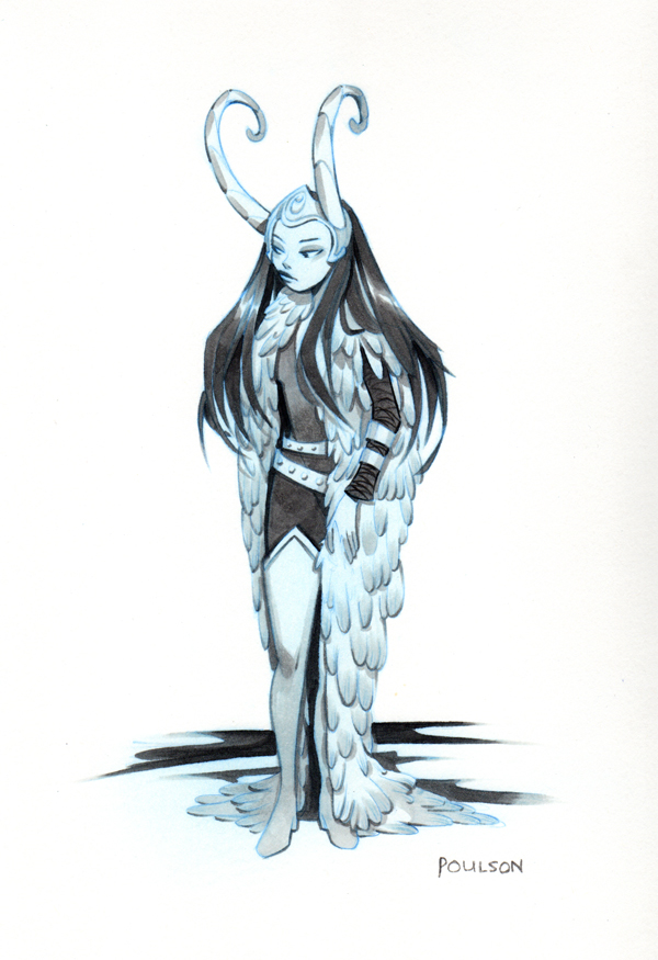 Lady Loki- commission by CasCanete