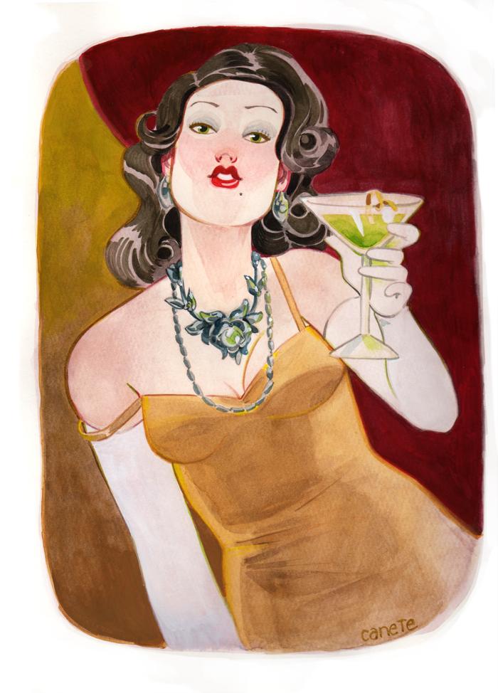 Vintage Femme Fatale by CasCanete