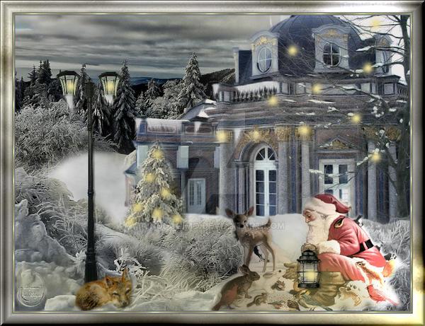 Santas visit 2012 by nudagimo