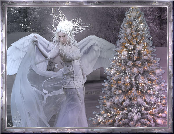 Christmas Angel 2012 by nudagimo