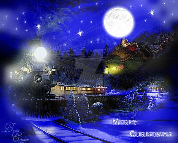 Santa is coming to Town by nudagimo