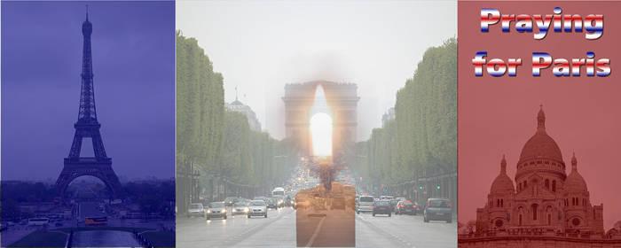Praying for Paris 13. November 2015
