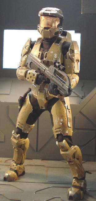 Halo master chief by redner