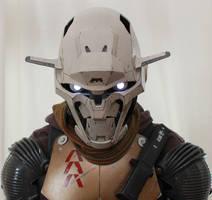 Destiny hunter exo costume pic 2 by redner
