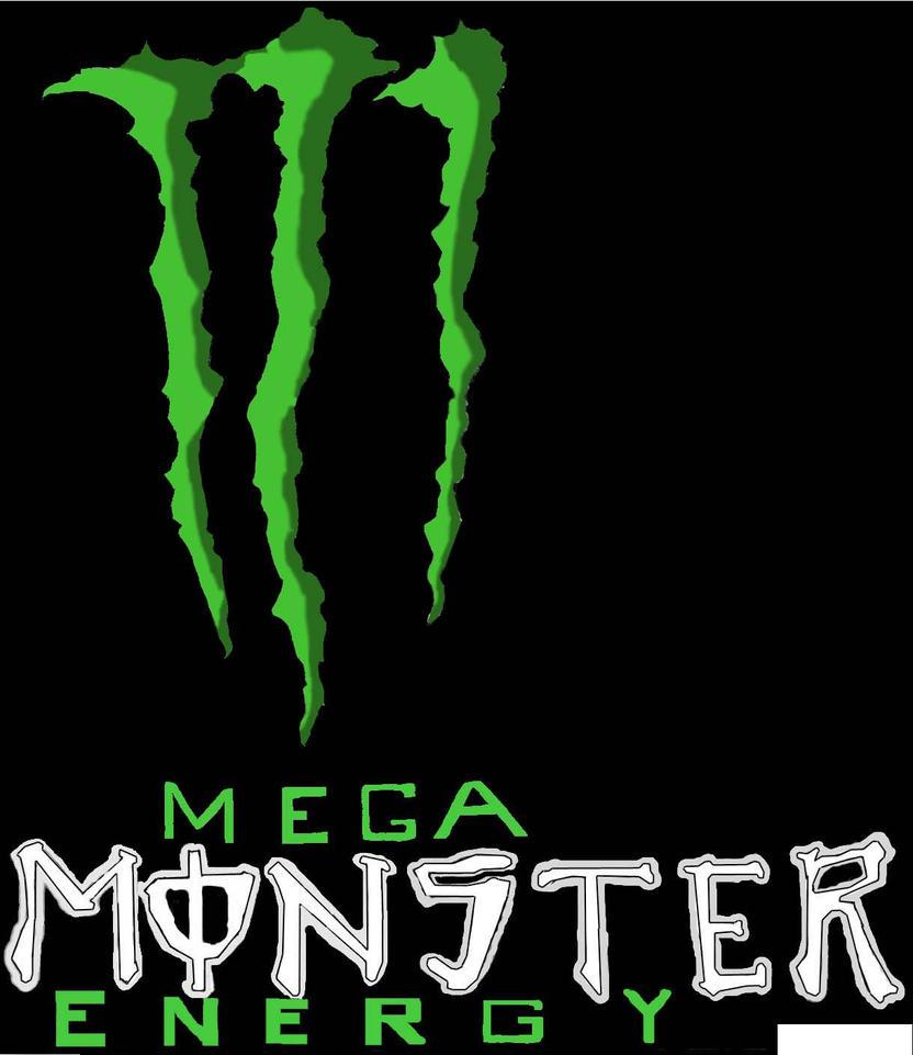 24 oz. monster energy logo by Takeo-Tatsuya on deviantART