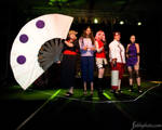 My mtac group on stage by Purple-Ladybug
