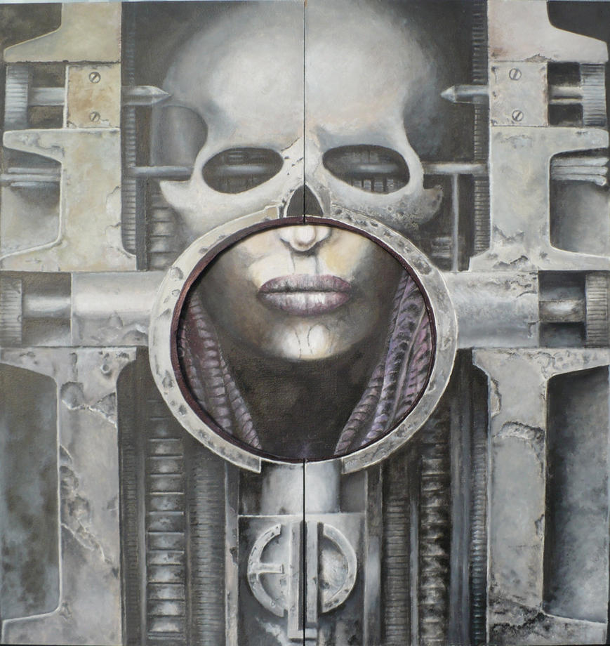 Elp Brain Salad Surgery Out Copy Of Lost Giger By Krtnik