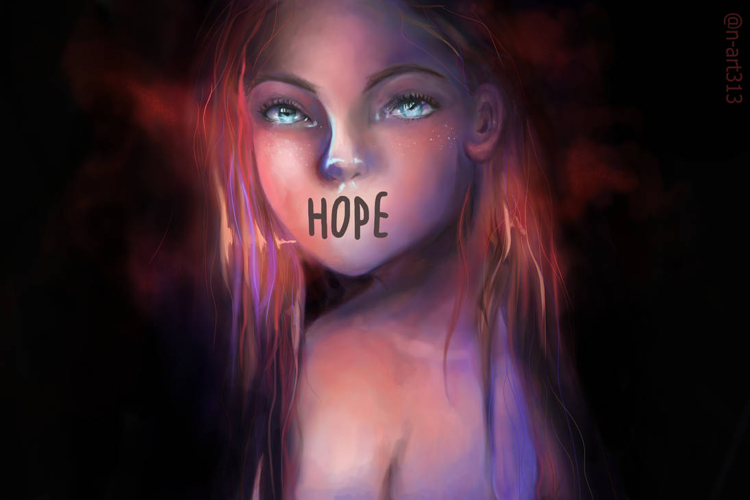 Lots Of Hope Only Requires Little Light by n-art313