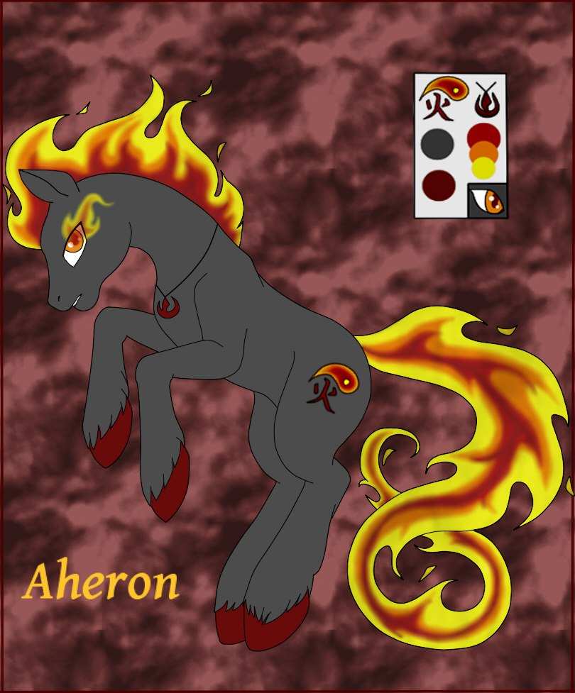Fire pony: Aheron by DeviVampire