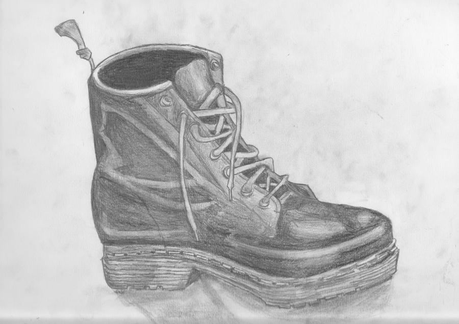 Creations ;o Study_of_a_shoe_by_whatkun-d33nsmq
