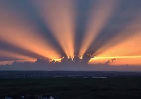 Sun Rays by drozz