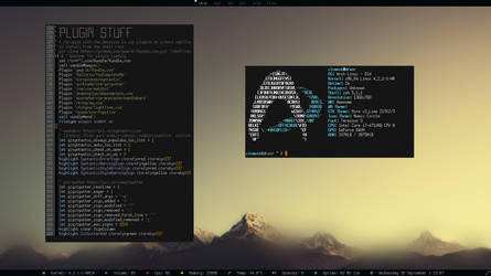 Arch Linux ScreenShot by rimekunix