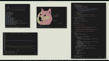 Arch Linux Retro Scrot by rimekunix
